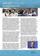 SICSA Newsletter 2014 v4